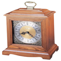 Oak Continuum Mantel Clock